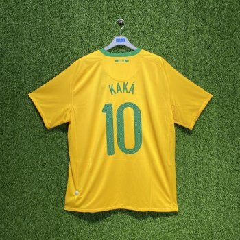 Nike National team 2010 Brazil (H) with #10 KAKA nameset