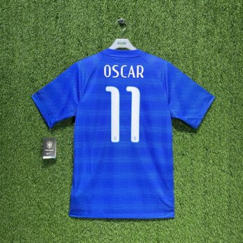 Nike National team Brazil 2014 (A) with #11 OSCAR nameset