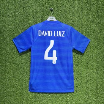 Nike National team Brazil 2014 (A) with #4 DAVID LUIZ nameset