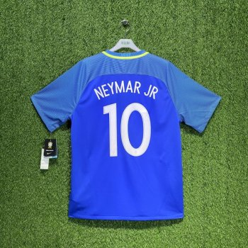 Nike National team Brazil 2016-18 (A) with #10 NEYMAR JR nameset