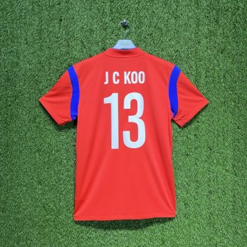 Nike National team Korea 2014 (H) with #13 J C KOO nameset