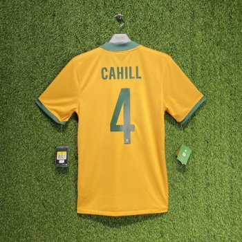 Nike National team AUSTRALIA 2014 (H) with #4 CAHILL nameset