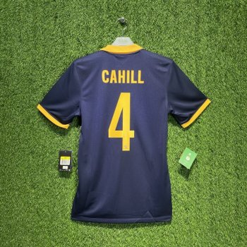 Nike National team AUSTRALIA 2014 (A) with #4 CAHILL nameset