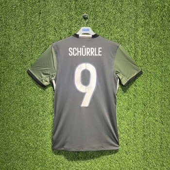 ADIDAS GERMANY 2016 (AWAY) S/S JSY AA0110 w/ Nameset (#9 SCHURRLE)
