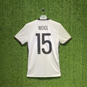 ADIDAS GERMANY 2016 (HOME) S/S JSY AI5014 w/ NAMESET (#15 WEIGL)