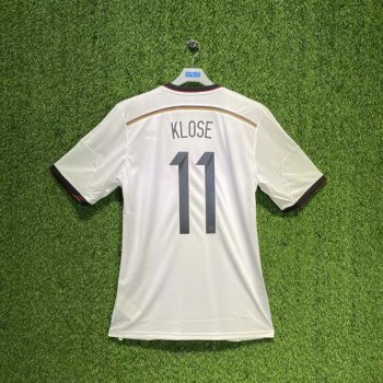 GERMANY 2014 (HOME) 4 STAR S/S JSY M35022 w/ NAMESET (#11 KLOSE)