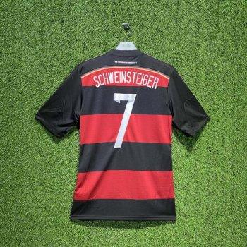 ADIDAS GERMANY 2014 (AWAY) S/S JSY G74520 w/ NAMESET (#7 SCHWEINSTEIGER)