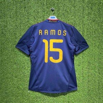 SPAIN 2010 (AWAY) S/S JSY P47896 w/ NAMESET (#15 RAMOS)