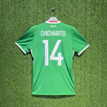 ADIDAS MEXICO 2016 (HOME) SS JSY AC2723 w/ NAMESET (#14 CHICHARITO)