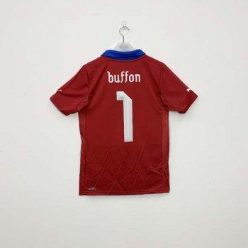 ITALY 2012 (AWAY) GK S/S JSY 740359-04 w/ NAMESET (#1 BUFFON)