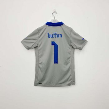 ITALY 2012 (HOME) GK S/S JSY 740359-06 w/ NAMESET (#1 BUFFON)