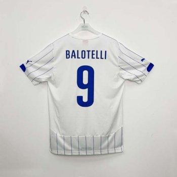 PUMA ITALIA 2014 (AWAY) Shirt Replica 744291-02 w/ NAMESET (#9 BALOTELLI)