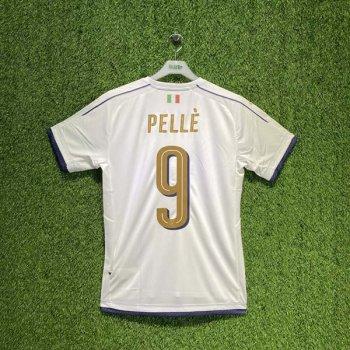 PUMA FIGC Italia 2016 (AWAY) TRIBUTE Shirt 749574-04 w/ NAMESET (#9 PELLE)