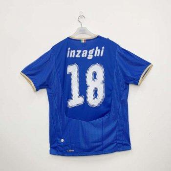 ITALIA 2008 (HOME) S/S JSY 733916-01 w/ NAMESET (#18 INZAGHI)