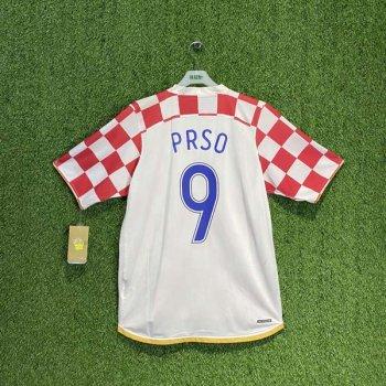 CROATIA 2006 (HOME) 109269-611 S/S JSY w/ NAMESET (#9 PRSO)