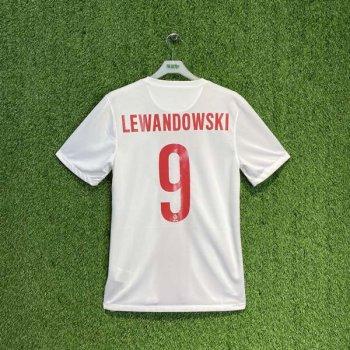 POLAND 2014 (HOME) S/S JSY 578322-105 w/ NAMESET (#9 LEWANDOWSKI)