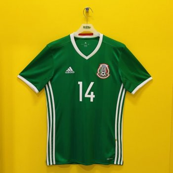 分店限定-觀塘店限定 2016墨西哥主場球衣 (連#14印字)