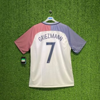 NIKE FRANCE 2016 (AWAY) S/S JSY NAMESET(#7 GRIEZMANN )