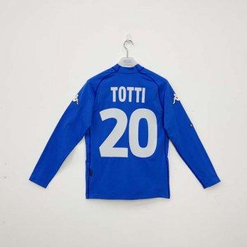 KAPPA ITALIA 2000 (HOME) L/S JSY w/ NAMESET (#20 TOTTI)