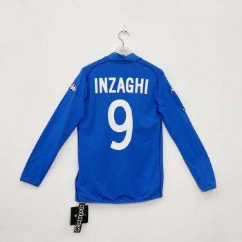 KAPPA ITALIA 2002 (HOME) L/S JSY w/ NAMESET (#9 INZAGHI)