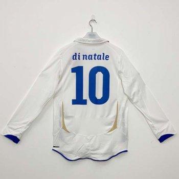 PUMA ITALY 2010 (AWAY) L/S JSY w/NAMESET (#10 DINATALE)