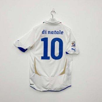 PUMA ITALY 2010 (AWAY) NAMESET (#10 DINATALE) + WC BADGE