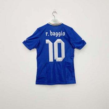 ITALIA 2012 (HOME) S/S JSY 740355-01 w/ NAMESET (#10 R.BAGGIO)