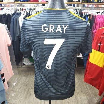 Adidas Leicester City 18/19 (A) With Nameset (#7 GRAY)