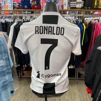 Adidas Juventus 18/19 (H) With Nameset(#7 RONALDO)