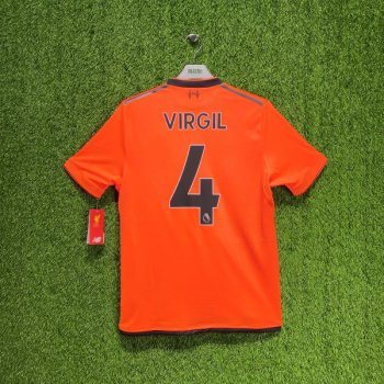 New Balance Liverpool 17/18 (3rd) with nameset(#4 VIRGIL)
