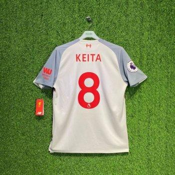 New Balance Liverpool 18/19 (3rd) with Nameset(#8 KEITA)+Badge