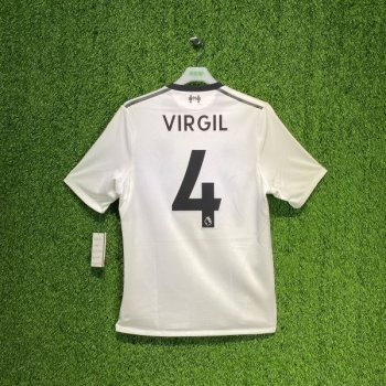 New Balance Liverpool 17/18 (A) ELITE JSY with nameset(#4 VIRGIL)