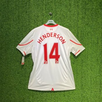 New Balance Liverpool 15/16 (A) with nameset (#14 HENDERSON)