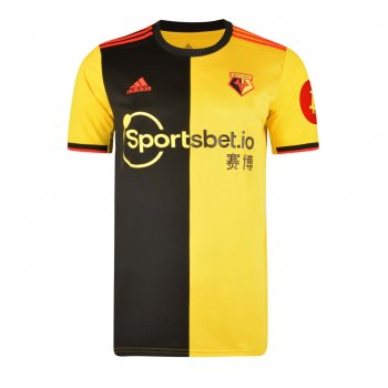 ADIDAS WATFORD 19/20 (H) RE SS JSY w/ NAMESET (#9 DEENEY)