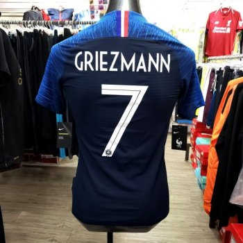 Nike National Team 2018 France (H) Authentic  with Player nameset(#7 GRIEZMANN)