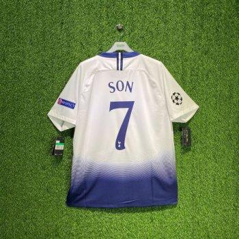 Nike Tottenham Hotspur 18/19 (H)  with nameset (#7 SON) + UCL badge
