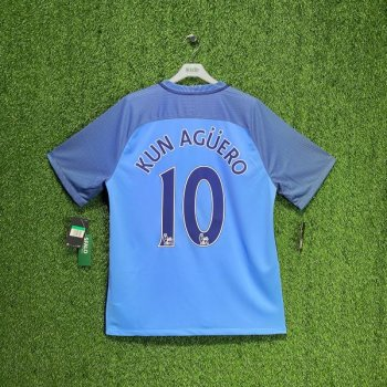 Nike Manchester City 16/17 (H) w/ Nameset (#10 KUN AGUERO)
