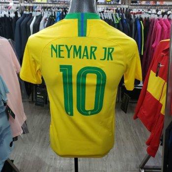 Nike Brasil 2018 (H)  with Nameset(#10 NEYMAR JR)