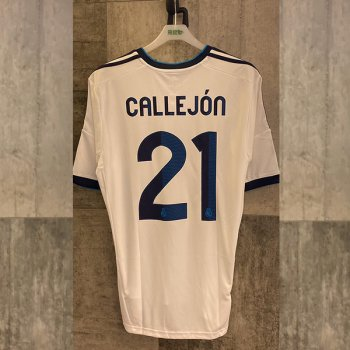 Adidas Real Madrid 12/13 (H) with Nameset(#21 CALLEJON)