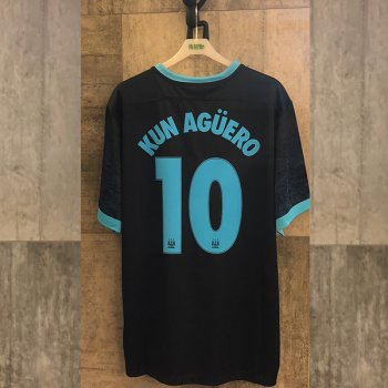 Nike Manchester City 15/16 (A)with Nameset(#10 KUN AGUERO)
