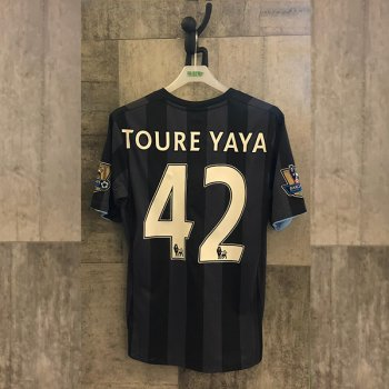 Umbro Manchester City 12/13 (3rd) Euro with Nameset(#42 TOURE YAYA)