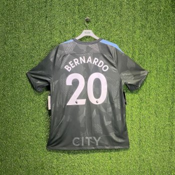 Nike Manchester City 17/18 (3rd) with Nameset (#20 BERNARDO)
