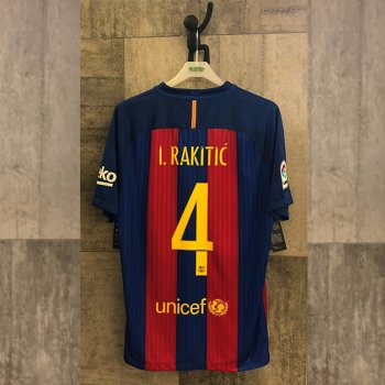 NIKE FCB 16 (H) with Nameset (#4 I. RALITIC)