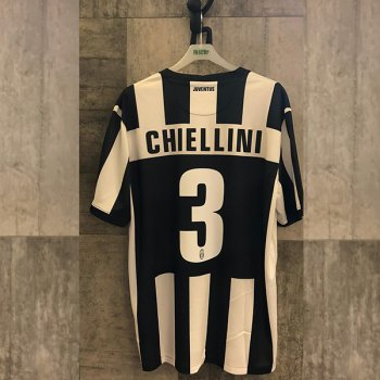 NIKE JUV 12 (H) S/S with Nameset (#3 CHIELLINI)