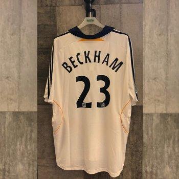 Adidas LA Galaxy 07/08 (H) S/S withNameset( #23 Beckham)