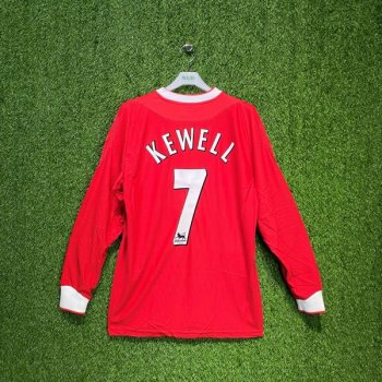 Reebok Liverpool 02/03 (HOME) L/S JSY w/ Nameset (#7 KEWELL)