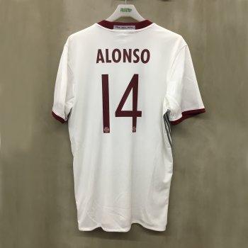 ADIDAS FCB 16/17 (3RD) S/S JSY AZ4663 w/ NAMESET (#14 ALONSO)