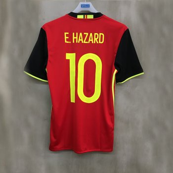 ADIDAS BEL 2016 (H) SS JSY with Nameset(#10 E. HAZARD)
