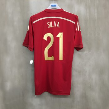 ADIDAS SPA 14 (H) AU JSY  with Nameset(#21 SILVA)