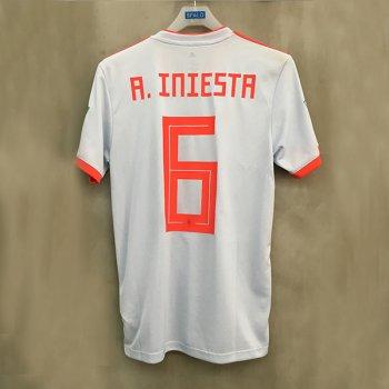 ADIDAS FEF 18 (A) JSY with nameset(#6 A.INIESTA)